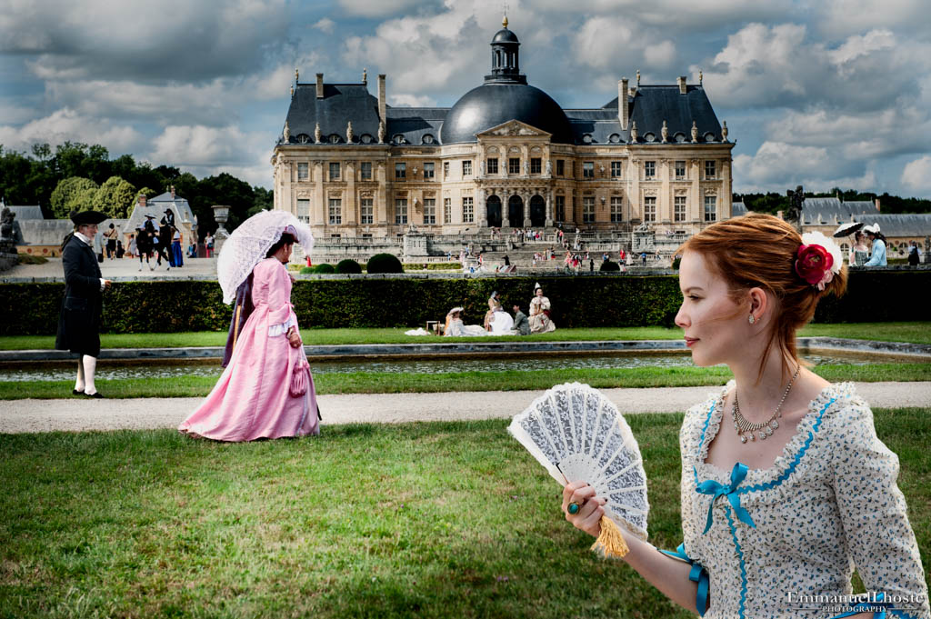 lunch on the grass vaux le vicomte castle France